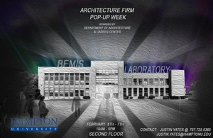 Architecture Firm PoPuP Week February 5th-7th 2020